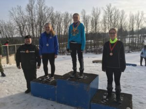 Petty Officer Barnard wins her age category at competition
