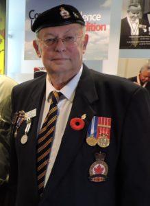 Mr. Begley in his Branch 90 Uniform