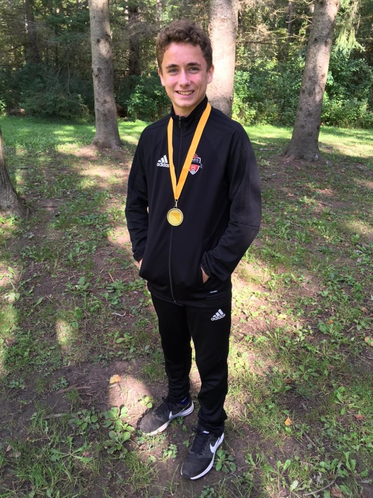 Barnard - Placed 1st place in the junior boys division
