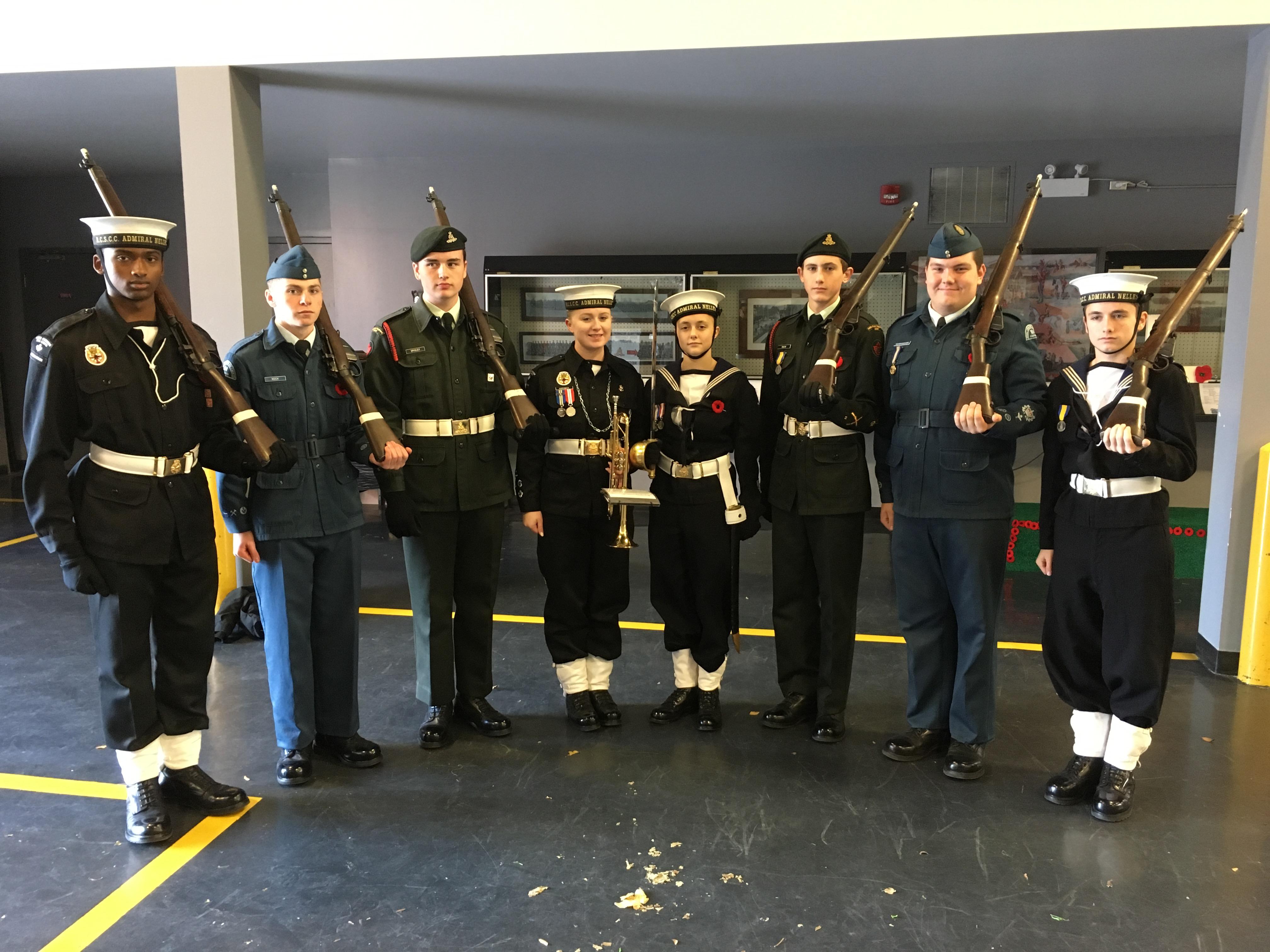 Whole Cenotaph Honour Guard
